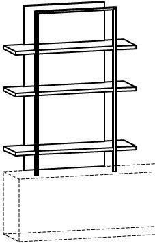V-Cube Aufbauregal Typ CR912A