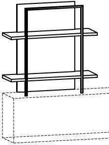 Aufbauregal V-Cube CR99A