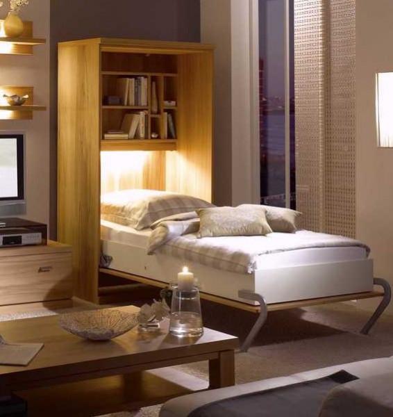 Komfort-Raumsparbett Armadi 1400