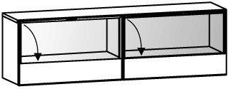V-Cube Hängeelement Typ CHE16V