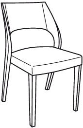 V-Montana Stuhl Type SEHP55