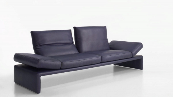 Sofa Raoul/Bregenz 3-sitzig, Leder C-Classic-lila