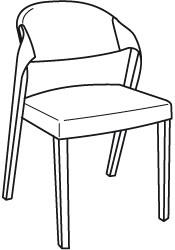 V-Alpin Stuhl Typ SEGP35
