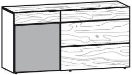 V-Alpin Sideboard Typ AS16L