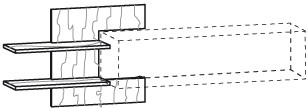 V-Alpin Wandpaneel Typ AWP96
