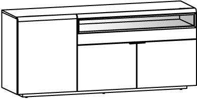 V-Cube Sideboard Type CS19