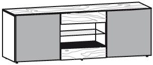 V-Alpin Lowboard Typ ALA19T