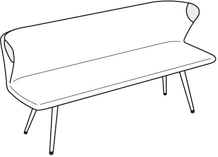 V-Alpin Sitzbank Typ ABP20