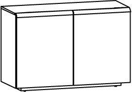 V-Cube Sideboard Type CS12T