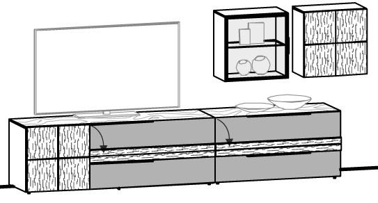 V-Alpin Wohnwand Vorschlag 507