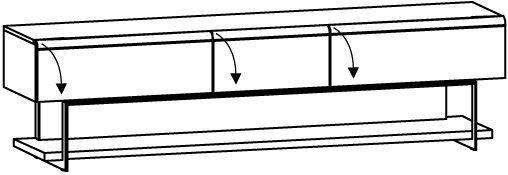 V-Cube Lowboard Typ CLF25