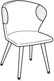 V-Alpin Stuhl Typ SEGP22