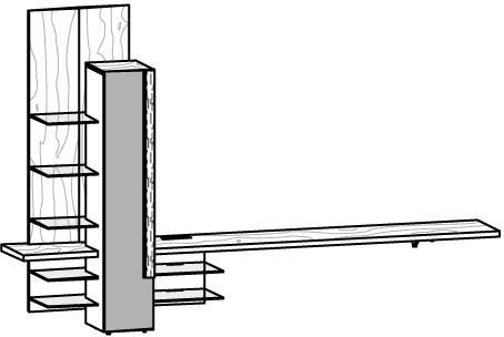 V-Alpin Mediakombination Typ AM30