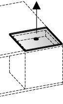 V-Cube Glasabdeckung Typ CCGA