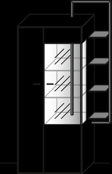 WM1880 Zeilenschrank Type 6933