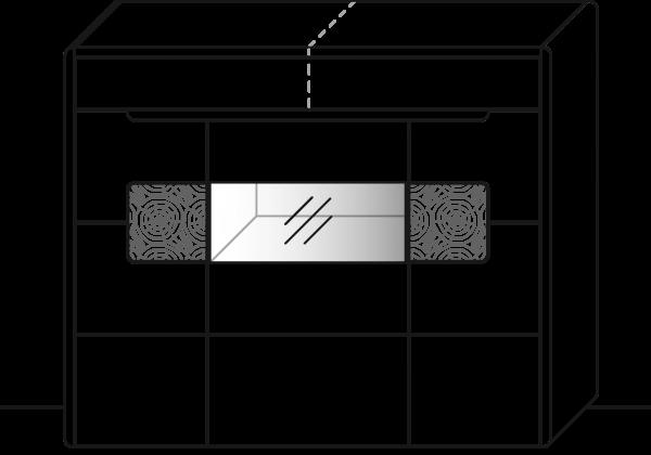 Solento Highboard Type 3540