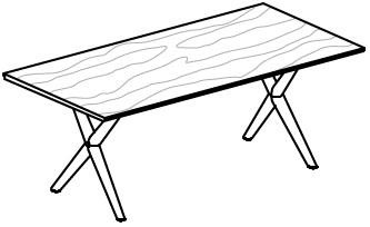 V-Alpin Speisezimmertisch Typ AS120