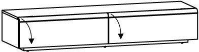 Lowboard V-Cube CL19