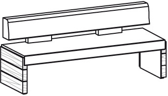 V-Montana Sitzbank Type NB22L
