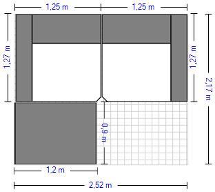 Planung | Wohnlandschaft HP1901/HU-HP19094