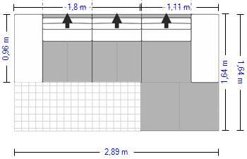 Planung | Wohnlandschaft Planopoly 7 1203/Hashim in Leder fels