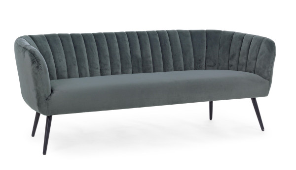Sofa Avril 3- Sitzer Grau