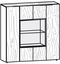 V-Alpin Highboard Typ AH12G
