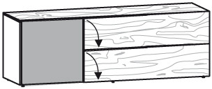 V-Alpin Lowboard Typ ALH19A