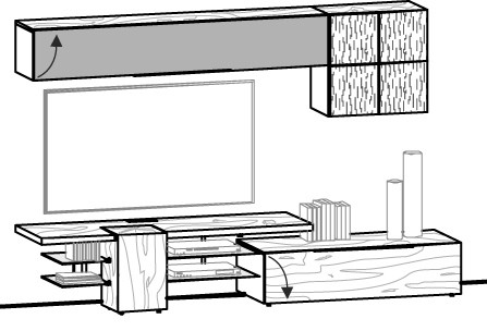 V-Alpin Wohnwand Vorschlag 161