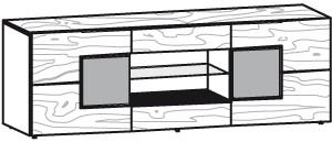V-Alpin Lowboard Typ ALH19T
