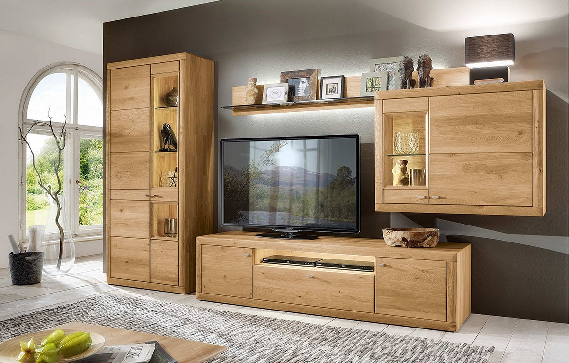 aurum willie wohnkombinationen wohnzimmer m bel. Black Bedroom Furniture Sets. Home Design Ideas