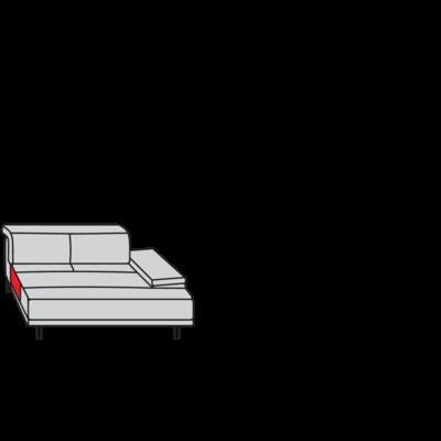 Planung | Einzelsofa broadway (16777)