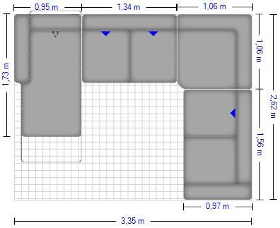 Planung | Wohnlandschaft enjoy 15270/Myra