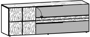 V-Alpin Lowboard Typ ALH19R