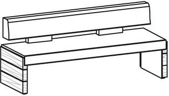 V-Montana Sitzbank Type NB16L