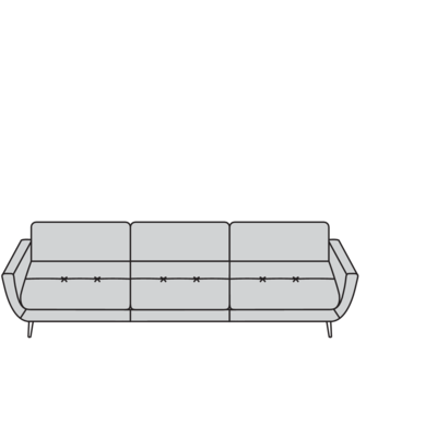 Planung   Sofa softy 12301 Megasofa