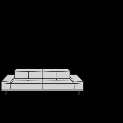 Planung | Einzelsofa levi (24405)