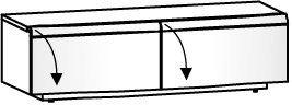 Lowboard V-Cube CLR12