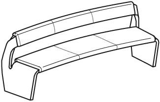 V-Alpin Sitzbank Typ AB16