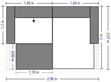 Planung | Garnitur 3060/Britta