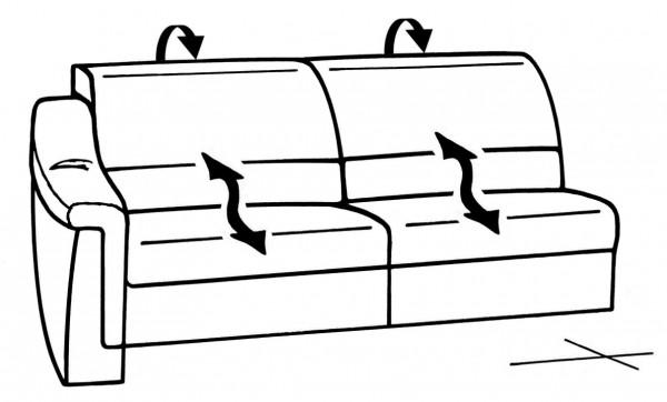 Planung   Wohnlandschaft Planopoly 1501/Planopoly Motion 1501