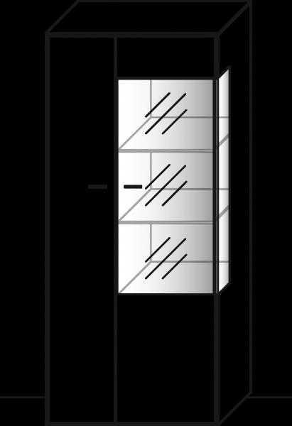 WM1880 Zeilenschrank Type 5743