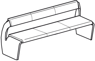 V-Alpin Sitzbank Typ ABG19