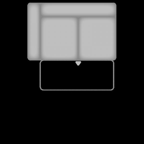 Planung   Wohnlandschaft TAHITI/ZE-EM09003