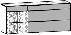 V-Alpin Sideboard Typ AS19R
