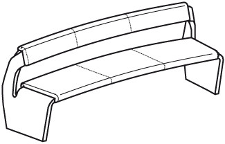 V-Alpin Sitzbank Typ AB20