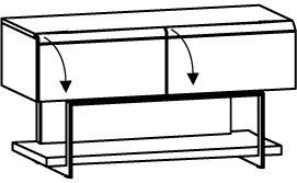 Lowboard V-Cube CLF12