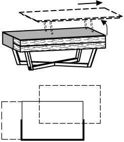 V-Alpin Couchtisch Typ AC71R