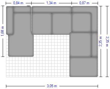 Planung   Wohnlandschaft Signa 1052 Stoff tundra
